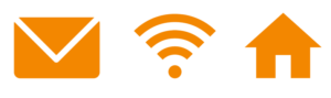 mail wifi home icoon