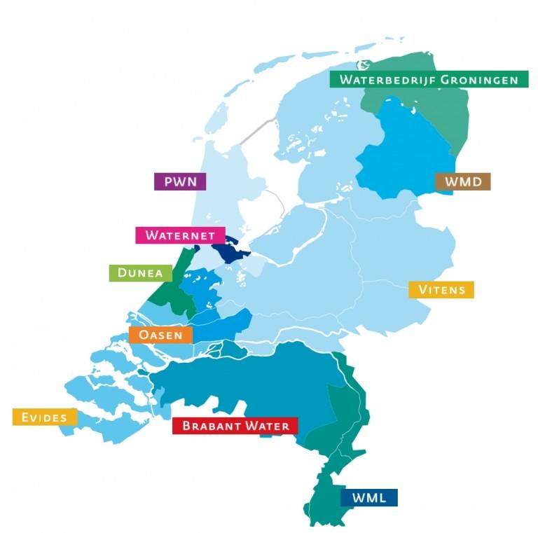 Waterleveranciers Overzicht van Nederland | De Wijzer op ...